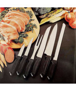 Kitchen 6 Piece Cutlery Set with Stainless Blades Great Gift for the Coo... - $6.95