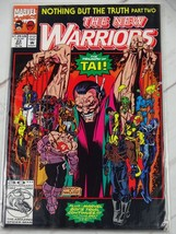 The New Warriors #23 (May 1992, Marvel) Bagged and Boarded - C2763 - $1.99