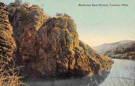 Medicine Bass Stream Lawton Oklahoma 1910c postcard - $6.93