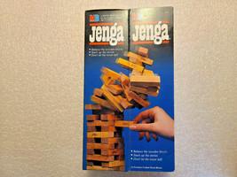 Jenga Game New 1986 Milton Bradley 4793 ages 8-Adult 54 Precision Wood Blocks - £19.51 GBP