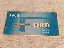 1968 Ford Original Car Owners Manual. Vintage Automobile. - $9.74