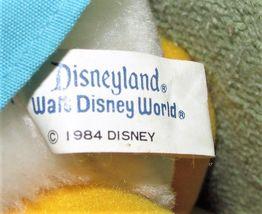 "Vintage BABY DONALD DUCK 10"" 1984 Disney Plush PLASTIC TAG Stuffed Animal  KOREA image 5"
