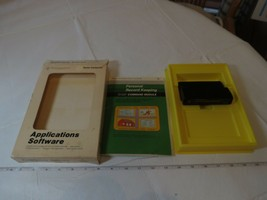 Texas Instruments home computer PC personal record keeping command modul... - $26.71