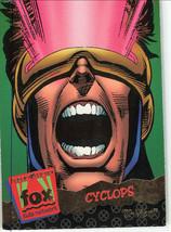 X-Men Cyclops Fleer 95 Ultra 1995 Fox #93 Ungraded Trading Card - $6.89
