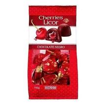 Liquor Cherries With Dark Chocolate Cherries Candy 290 grs Sweets Cherry - $29.99