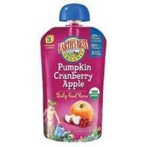 Earth's Best Pumpkin Cranberry Apple Puree (2x6x4.2Oz) - $26.01