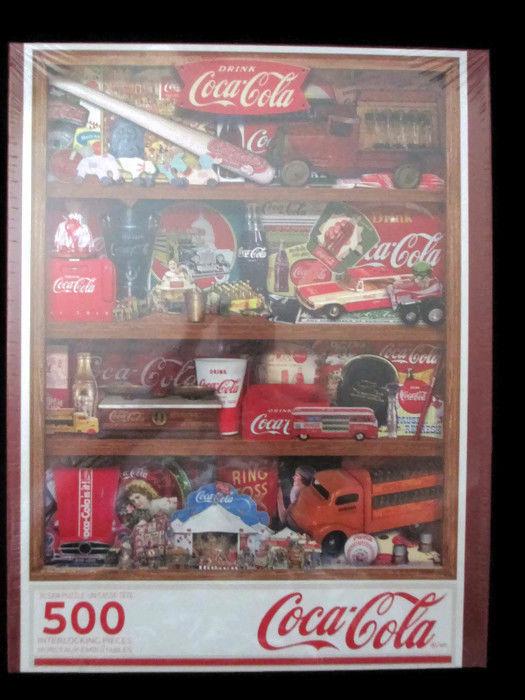 Coca-Cola Springbok 500 Piece A Collection Puzzle - BRAND NEW