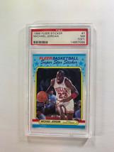 1988 Fleer Michael Jordan Sticker #7 PSA NM 7 (st) - $282.15