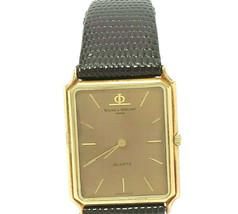 Vintage 1980s Baume and Mercier 14k Yellow Gold Quartz Watch - $1,149.00