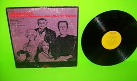 Music For Monsters Munsters Mummies & Other TV Fiends Vinyl LP Record Ha... - £46.03 GBP