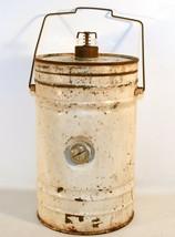 Vintage Rare Oil Can Meter Full Empty for Oil Tank - $24.26