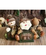 Calendar Advent Christmas Countdown Santa Wooden 24 Tree Kit New Felt Day - $15.99