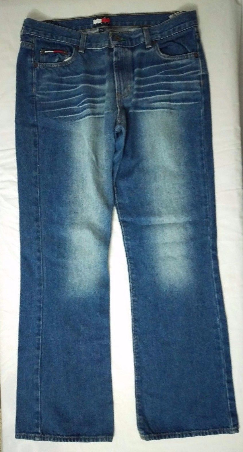 f0c17de7676ed Vintage Tommy Hilfiger Flag Bootcut Jeans and 50 similar items