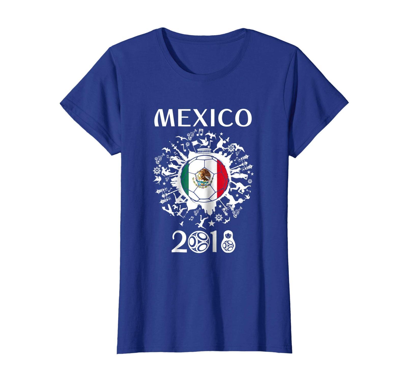 Sport Shirts - World Football 2018 Mexico Jersey Soccer Team Gift Tshirt Wowen
