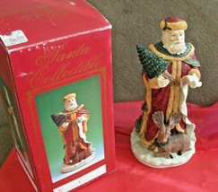 Kirklands Windsor Collection Old World Santa List & Reindeer Collectible... - $39.59