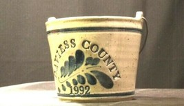 Daviess County Westerwald Pottery/Stoneware 1992 Bowl with handle AA-192061 image 2