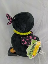 "Punk Ducks Black Plush 9"" A&A Global 2014 Stuffed Animal Toy - $5.95"