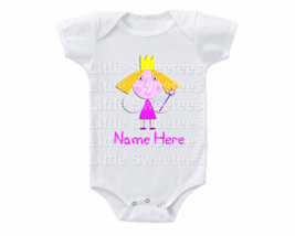 Princess Holly Onesie Personalized Shirt - $15.00
