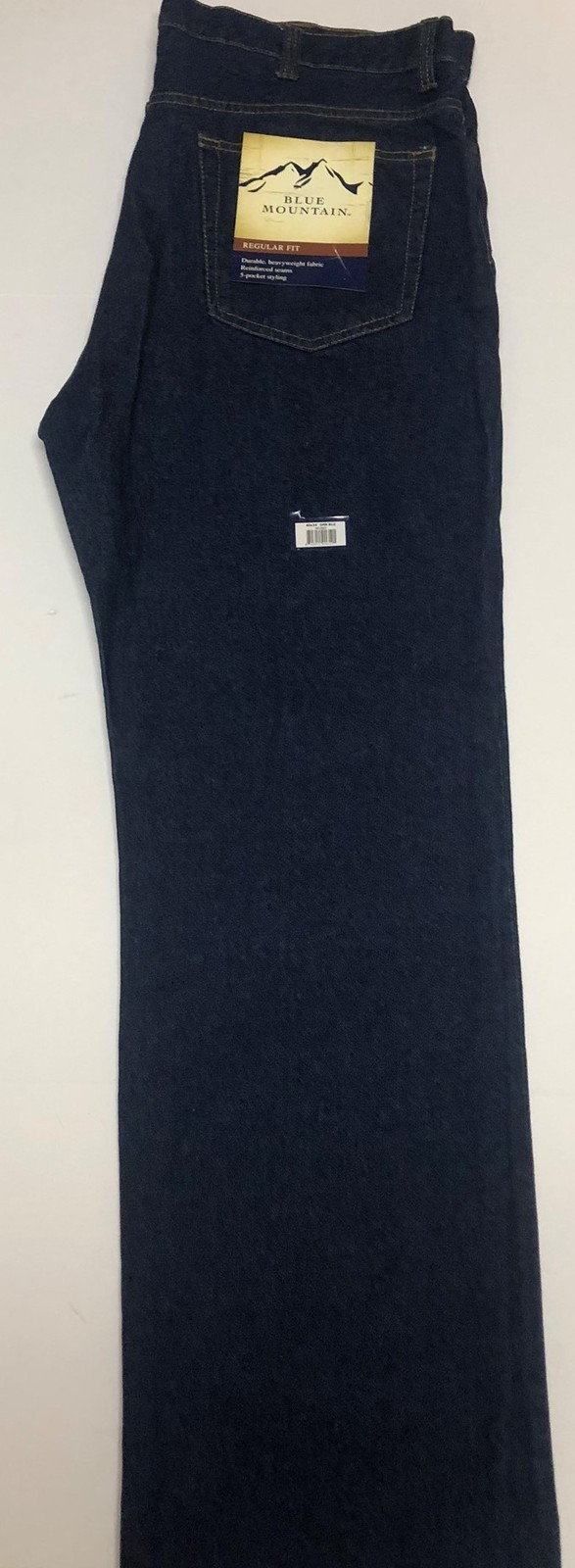 Blue Mountain Jeans Regular Fit 5 Pocket Heavyweight Sz 40 x 34 image 3