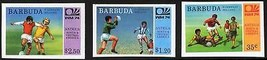 BARBUDA 1974 WORLD CUP SOCCER/FOOTBALL CPL SET FIRST PART SC#162,165-166... - $5.15