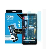 Dome Glass Google Pixel 2 XL Screen Protector Tempered Glass Replacement... - $50.11