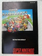 Super Mario Kart (Super Nintendo SNES) * Manual Only * - $11.87