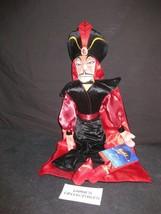ShopDisney Store Authentic Jafar plush Doll Aladdin Villain Halloween 21... - $33.48