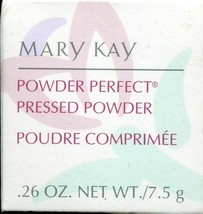 Mary Kay Powder Perfect Pressed Powder - Ivory - .26 Oz - New In Box! - $8.90