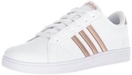 adidas Originals Unisex-Kids Baseline Sneaker, White/Copper Metallic/Bla... - $66.53