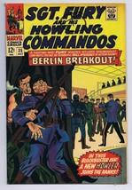 Sgt Fury and His Howling Commandos #35 ORIGINAL Vintage 1966 Marvel Comics - $14.84