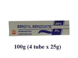 Benzyl Benzoate ointment, 20%, 100 gr, Scabies Lice Treatment, Antiparas... - $17.15