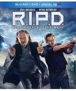 R.I.P.D. (Blu-ray/DVD, 2013, 2-Disc Set, - $7.98