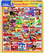 White Mountain Cereal Boxes 1000 Piece Jigsaw Puzzle - $19.99
