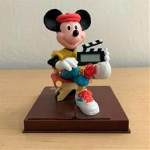 Rare Vintage Disney Mickey Mouse Movie Director Talking Digital Clock  - $29.21