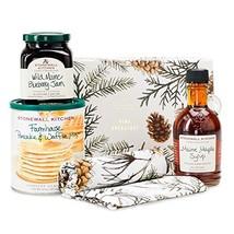 Stonewall Kitchen Pine Breakfast Gift - 4 piece Gift Set