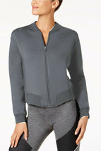 Nike Womens Therma Sphere Max Training Bomber Jacket Gray XL 4816-3 - $63.15