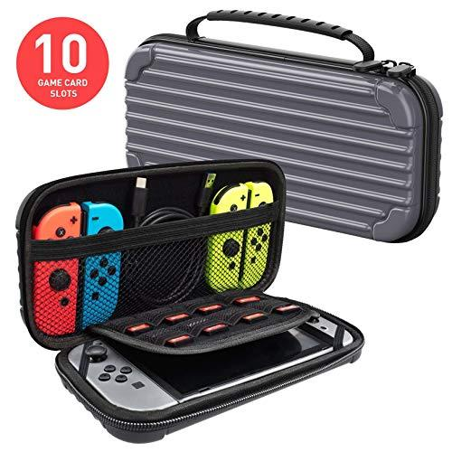 Primary image for Nintendo Switch Carrying Case Protective Hard Shell Slim Travel Carry Case - Dar