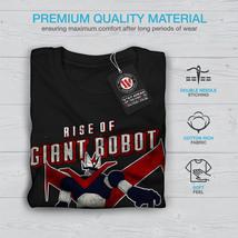 Rise Of Giant Robot Geek Tee Japan Style Men Long Sleeve T-shirt image 3