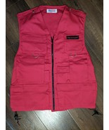 Grab and Go Bright Red Vest ADULT SIZE NEW WITH OUT TAGS - $28.41