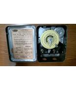 #1928 Dayton 24 Hour Time Switch Model 2E021 Single Pole Single Throw FR... - $44.80