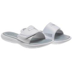 PUMA Women's Surfcat Wns Adjustable Strap Comfort Slide Sandals - White ... - £12.50 GBP