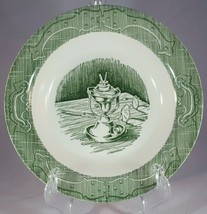 The Old Curiosity Shop Soup Bowl - Green by Royal China 6 - $39.55