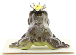 Hagen-Renaker Miniature Frog Prince Kissing Birthstone 11 November Topaz image 3