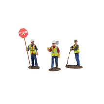 Diecast Metal Construction Figures 3pc Set #1 1/50 by First Gear 90-0480 - $68.32