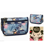 LeSportsac Disney Vacation Paradise Mickey Minnie Mouse Travel Cosmetic ... - $34.99