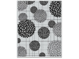 Hero Arts Flower Burst Patter Rubber Background Stamp #GS315 - $8.95
