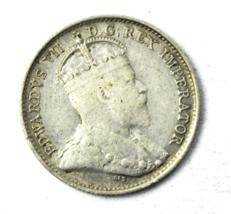 1903 H Canada 5c Five Cents Silver Coin Half Dime KM# 13 - $9.89