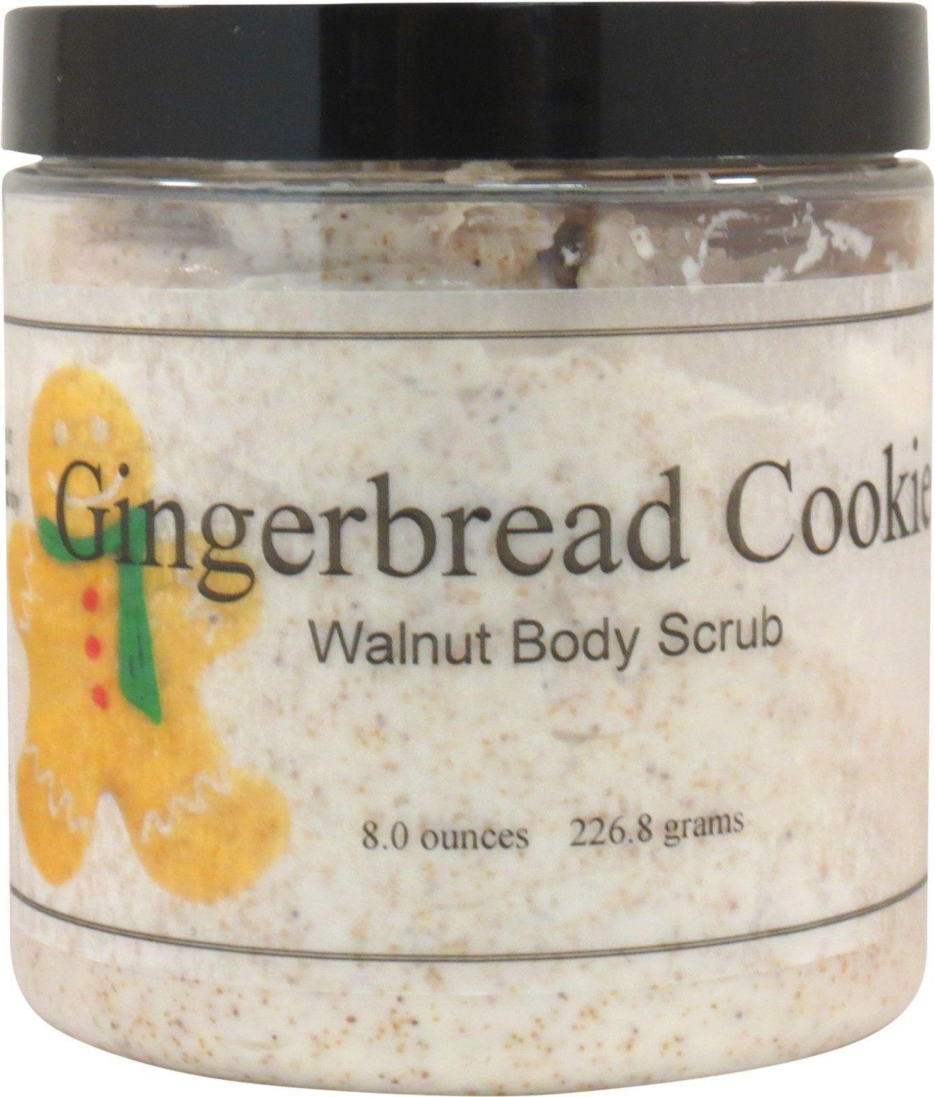 Gingerbread Cookie Walnut Body Scrub