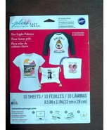 Jolee's EASY IMAGE Transfer Sheets for LIGHT Fabrics - 10 Sheets - $8.91