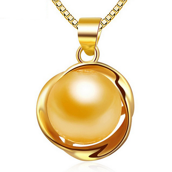 Primary image for Fashion Women Sterling Silver Shell Pearl Pendant